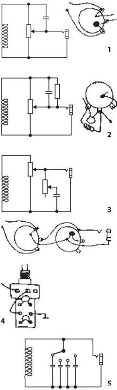 вызванный потенциометром